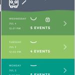 Moodistory App Screenshot /w iPhone: Home