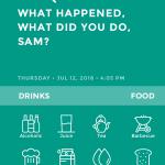 Moodistory App Screenshot: Events/Activities selection