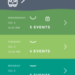 Moodistory App Screenshot: Home