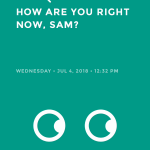 Moodistory App Screenshot: How Are you?