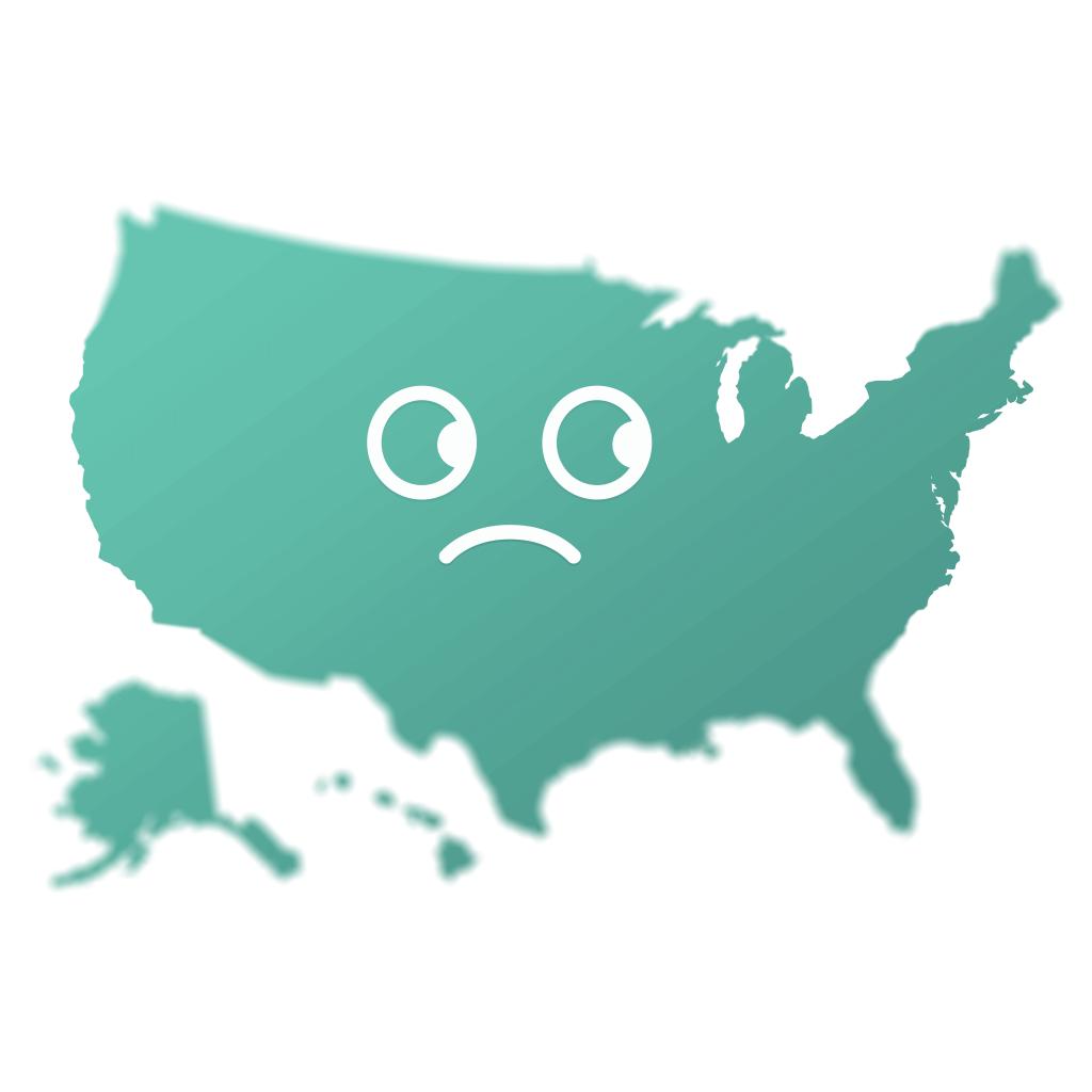 major depression in the us