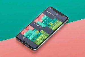 Moodistory App Monatsansicht