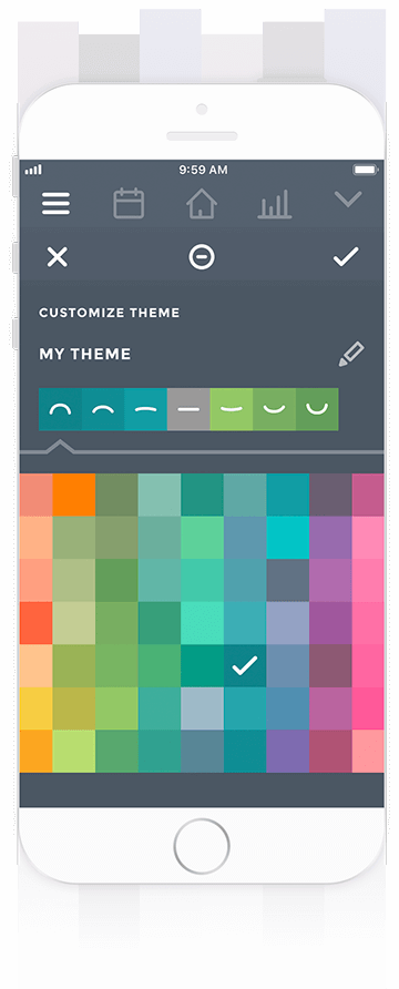 Create Theme in Moodistory