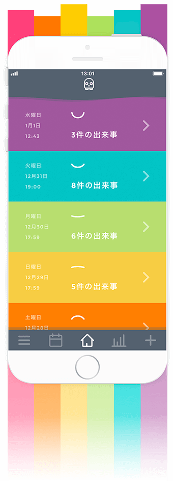 Moodistory Candy Color Theme (Japanese)