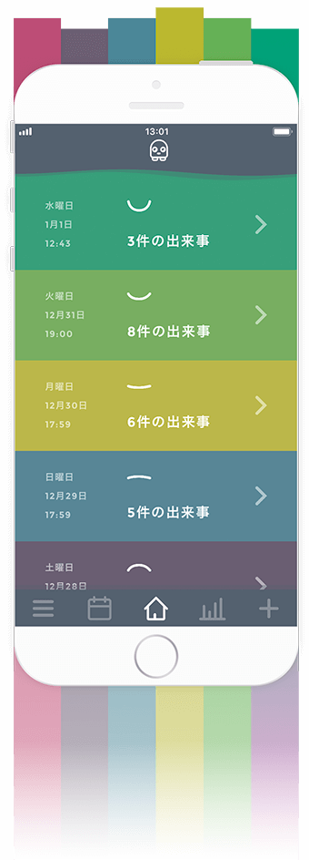 Moodistory Shades Color Theme (Japanese)