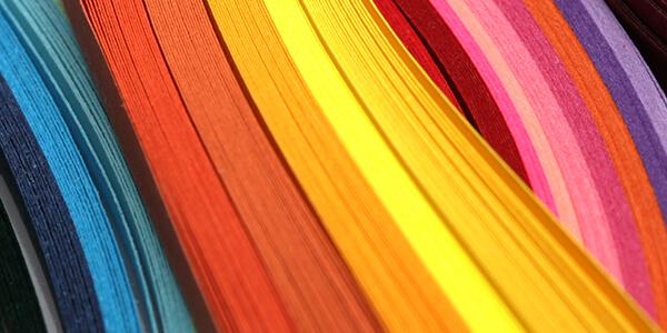 Farben des Stimmungskalenders
