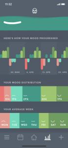 Moodistory App Analysis