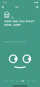 Moodistory App Create Entry Set Mood