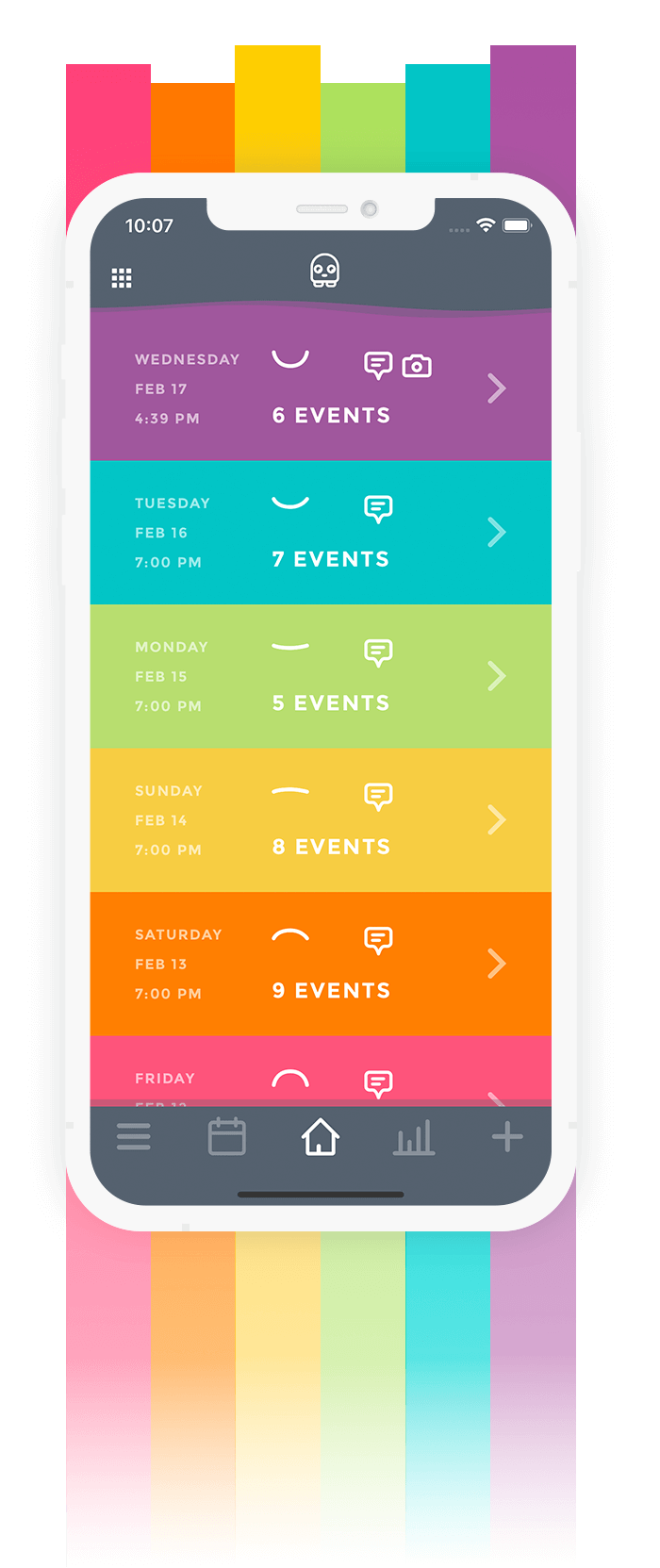 Mood Tracker App Moodistory - Theme Candy