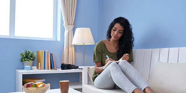 Keeping a mood diary can help you feel better